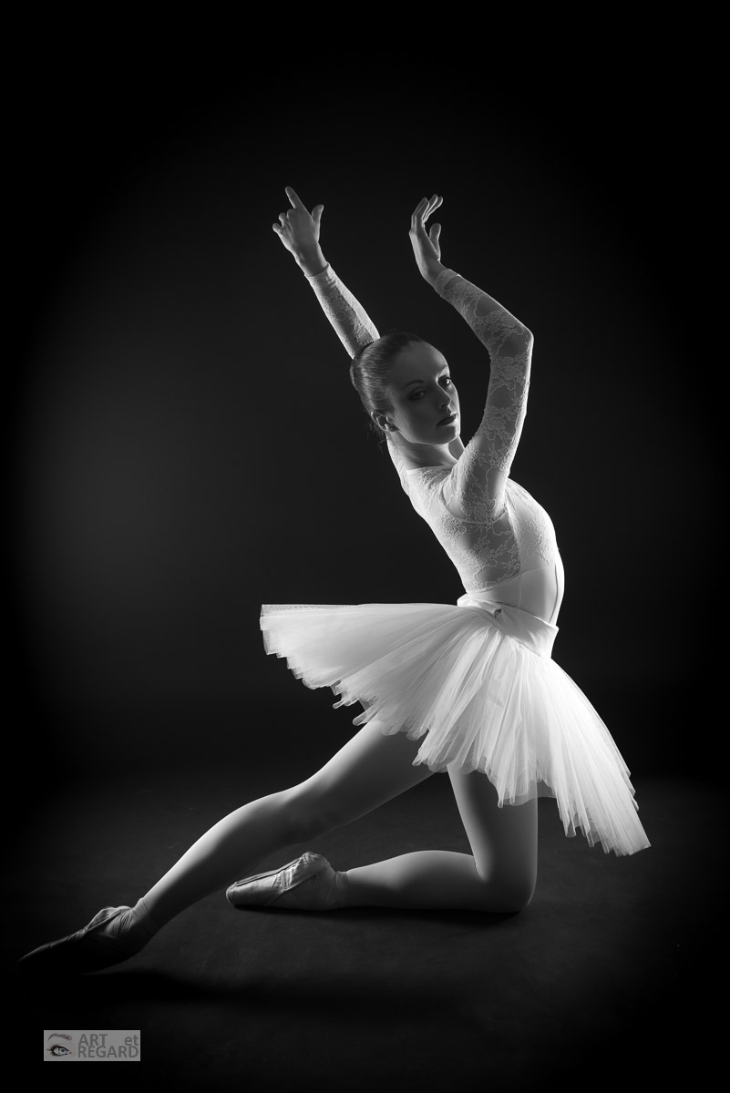 Ballet Shoes And Black And White
